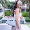 กระเป๋าสะพายแฟชั่น กระเป๋าสะพายข้างผู้หญิง Lindy 26 cm [สีเทา]