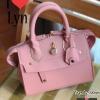 กระเป๋าถือ กระเป๋าสะพายข้างผู้หญิง สไตล์ Lyn trinity Size S [สีชมพู ]