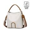 กระเป๋าสะพายกระเป๋าถือ แบรนด์ BEIBAOBAO แท้ ดีไซน์สุด cool BV3486-WHT (สีขาว)