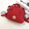 กระเป๋าสะพายข้างแฟชั่น วัสดุผ้าร่ม Style Kipling [สีแดง ]