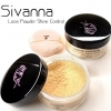 แป้งฝุ่น SIVANNA Loose Powder Shine-Control Sheer-Long Wear(เบอร์3)