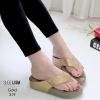 รองเท้าพื้นสุขภาพสีทอง ชนชอป LB-319-ทอง