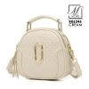 กระเป๋าสะพายกระเป๋าถือ แฟชั่นนำเข้าดีไซน์หรู B06246-CRM (สีครีม)