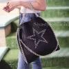 พร้อมส่ง กระเป๋าสะพายข้างผู้หญิง SL style ลายดาว [สีดำ]
