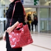 กระเป๋าสะพายแฟชั่น กระเป๋าสะพายข้างผู้หญิง Bao Bao Baral Nologo [สีแดง]