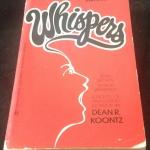 Whispers by Dean Koontz ราคา 150