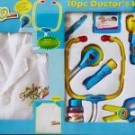 ของเล่นชุดคุณหมอ มีเสื้อกาวน์