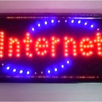 ป้ายไฟ INTERNET LED