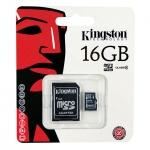 Micro SD Card 16GB Kingston ของแท้ พร้อมตัวแปลง ราคาส่ง