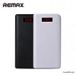 PowerBank 30000mAh REMAX แท้100% สีขาว/ดำ ให้เลือก สำหรับสำรองชาร์จ iPhone, ซัมซุง, Android แท็บเล็ต