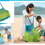 ถุงเก็บของเล่นทราย ล้างน้ำได้ มีรูระบายอากาศ