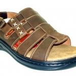 leather comfort sandal (men)