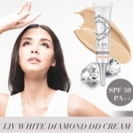 LIV White Diamond DD ครีม SPF50 02 beige