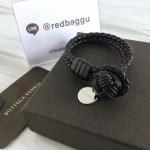 Bottega Veneta double bracelet size S สีดำ