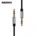 สายแจ็คต่อลำโพง 3.5MM REMAX แท้ (สีดำ) 1เมตร