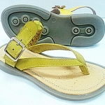 leather sandal without backstrap (kids)
