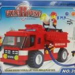 เลโก้รถดับเพลิง พร้อมนักผจญเพลิง