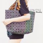 กระเป๋าสะพายแฟชั่น กระเป๋าสะพายข้างผู้หญิง สีรุ้งสดใส BaoBao จุของได้เยอะ [สีรุ้ง ]
