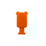 ที่กันสายขาด รูปหมี สีส้ม