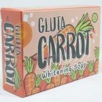 กลูตร้าแครรอทโซป Gluta Carrot Whitening Soap