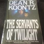 The Servants of Twilight by Dean Koontz ราคา 150