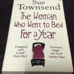 the woman who went to bed for a year sue townsend ราคา 150