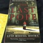 The Last Pope by Luis Miguel Rocha ราคา 250
