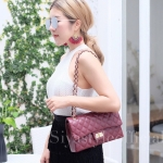 กระเป๋าสะพายแฟชั่น กระเป๋าสะพายข้างผู้หญิง CN classic [สีแดง]
