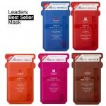 Pre-Order Leaders Mediu Amino Mask Pack 25ml 10+10(แพคคู่ได้ 20 แผ่น)