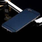 เคส iPhone 5/5s อลูมิเนียม+อะคริลิค ฝาหลัง (สีกรมท่า)