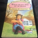 What Katy Did at School Carr Family #2 by Susan Coolidge ราคา 120