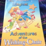 2in1book - the adventure of the wishing chair + the wishing chair again enid blyton ราคา 160