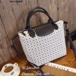 กระเป๋าถือ กระเป๋าสะพายข้างแฟชั่น Stlye baobao งานชน shop [สีขาว ]