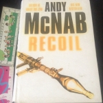 Recoil andy mcnab ปกแข็ง ราคา 200