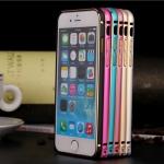 เคส iPhone 6 plus/6s plus บัมเปอร์อลูมิเนียมแท้ (สีทอง/ดำ/เงิน)
