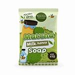 สบู่ชาเขียวมัทฉะ Matcha milk honey Soap