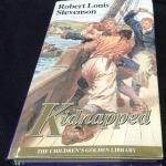 kidnapped robert louis stevenson ปกแข็ง ราคา 290