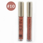 Sivanna Colors Luxury Nude Matte Lip liquid No.10