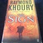The Sign by Raymond Khoury ราคา 230