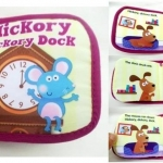 หนังสือผ้า Hickory Dickory Dock by Kids books