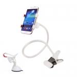 ที่หนีบ/ยึด มือถือ SmartPhone (สีขาว) กว้าง 10ซม.