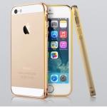 เคส iPhone5/5s บัมเปอร์อลูมิเนียมแท้ (สีทอง)