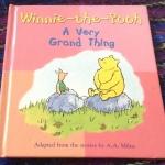 Winnie the Pooh a very grand thing ราคา 120