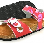 Cork sole leather sandal (kids)
