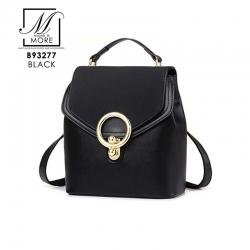 กระเป๋าสะพายเป้กระเป๋าถือ แฟชั่นงานนำเข้าสไตล์เท่ห์ B93277-BRO (สีน้ำตาล)