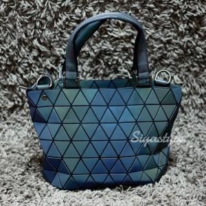 กระเป๋าสะพายแฟชั่น กระเป๋าสะพายข้างผู้หญิง Barel Mini logo สามเหลี่ยม สีรุ้ง [สีรุ้ง]