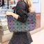 กระเป๋าสะพายแฟชั่น กระเป๋าสะพายข้างผู้หญิง Bao bao 7*8 สีรุ้งLOGO [สีรุ้ง]