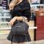 กระเป๋าสะพายแฟชั่น กระเป๋าสะพายข้างผู้หญิง สะพายข้าง NEW CELINE [สีดำ] thumbnail 2