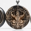 เหรียญพญาครุฑ รุ่น.เมตตรา เนื้อนวะ ขนาด 2.6cm thumbnail 2