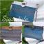 กระเป๋าครัช กระเป๋าถือ สายสะพาย วินเทจ(คลัทช์ปักลายวินเทจ) [สีเทา] thumbnail 4